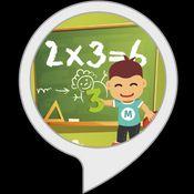 logo alexa skill Les tables de multiplication
