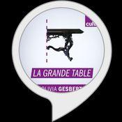 logo alexa skill La Grande table culture